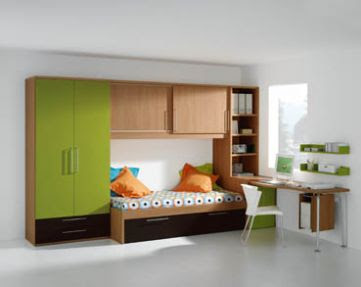 Dise os de closets modernos para ni os y j venes decorar for Disenos de closet para dormitorios pequenos