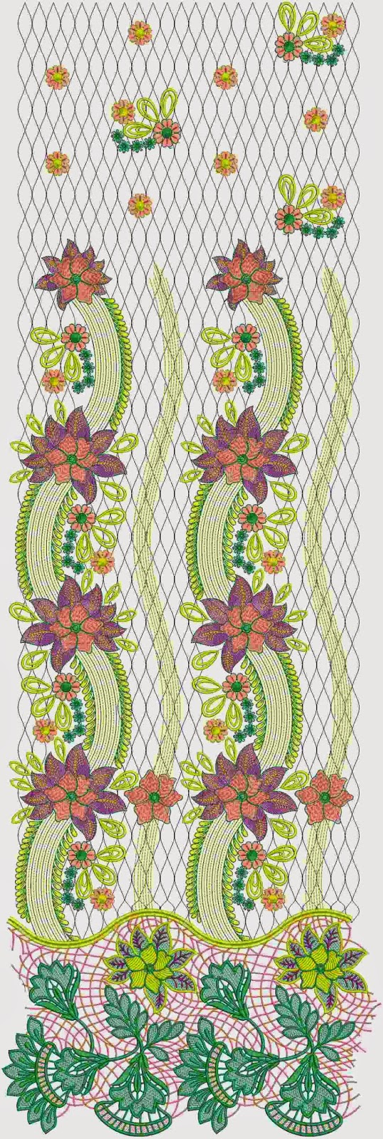 klassieke Mexikaanse veelkleurige Lawn pak