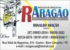 R . ARAGÃO PRESTAÇÃO DE SERVIÇOS