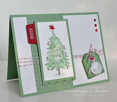 Christmas Card Idea Snow Much Fun Stamp Set by Stampin' Up!