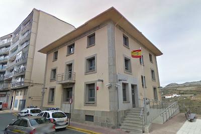 Edificio de la comisaria de la policia nacional de Béjar