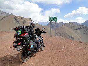 Paso del Cristo, Cordilheira dos Andes