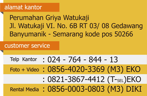 alamat dan customer service