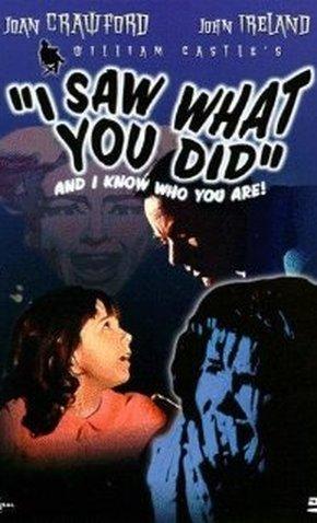 I SAW WHAT YOU DID - EU VI QUE FOI VOCÊ - 1965