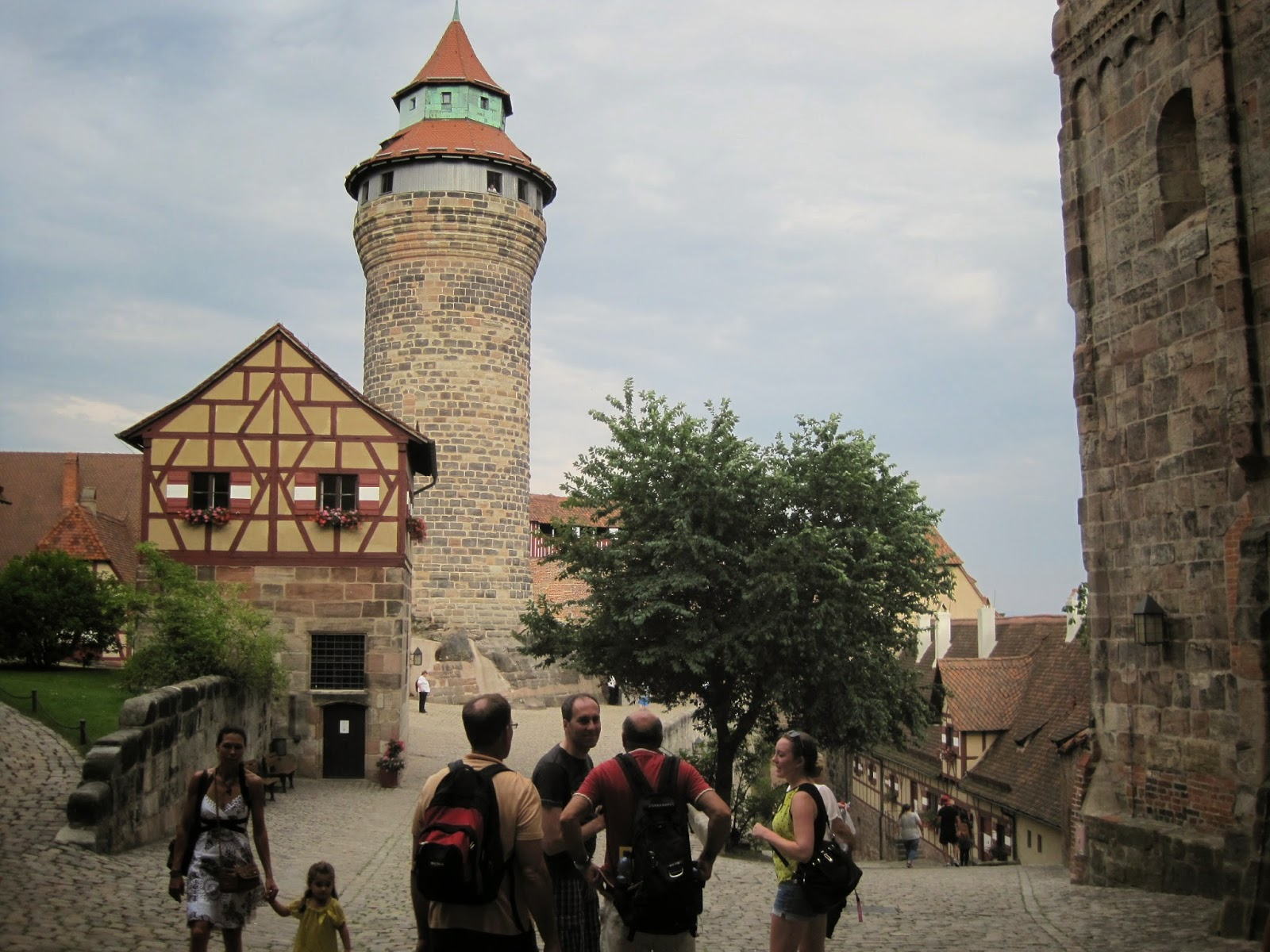 Visiting Nuremberg Castle