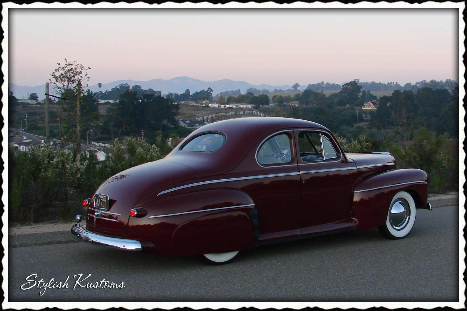 Working Class Kustoms Marc 180 S 1946 Ford Coupe