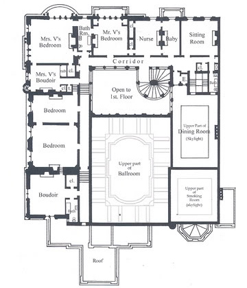 The Cornelius Vanderbilt Ii Mansion New on very small house plans