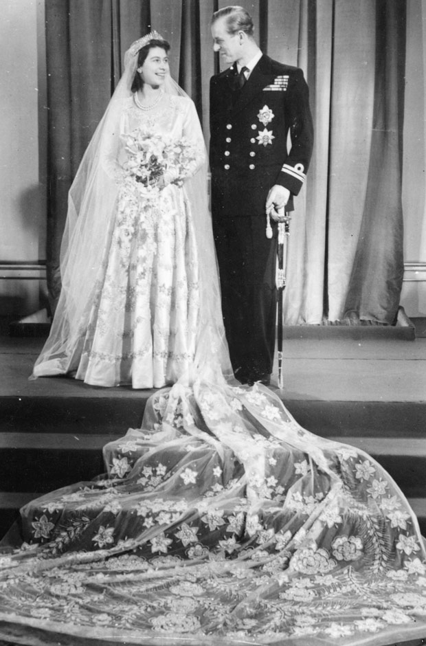 queen elizabeth wedding photo. queen elizabeth wedding