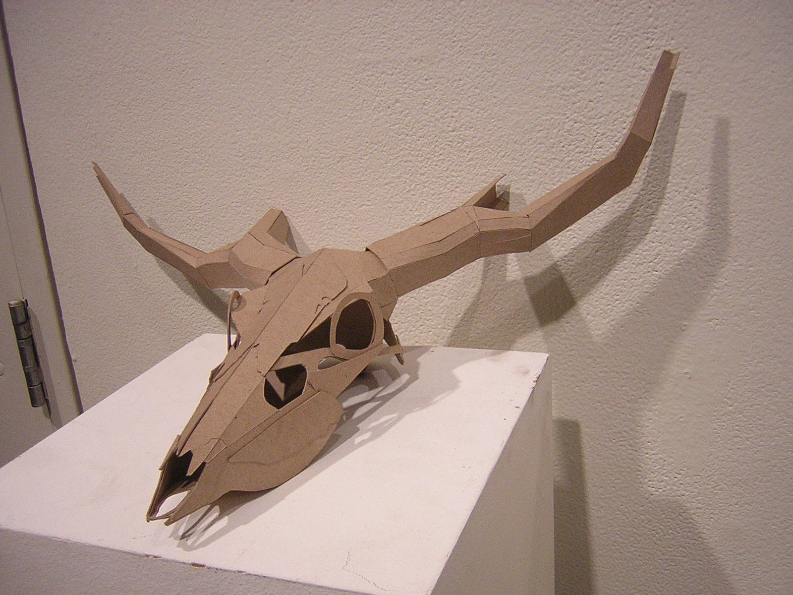 Complimentary studies sculptural metals cardboard skull complimentary studies sculptural metals cardboard skull research pronofoot35fo Gallery