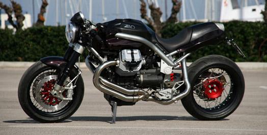 Moto Guzzi Streetfighter | Moto Guzzi V11 | Moto Guzzi custom | Moto Guzzi custom parts | Moto Guzzi motorcycles | custom FilippoBarbacane | way2speed.com