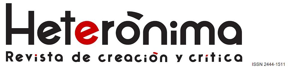 Heterónima. Revista de creación y crítica