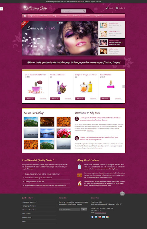 Bellissima-E-Commerce-HTML-Template