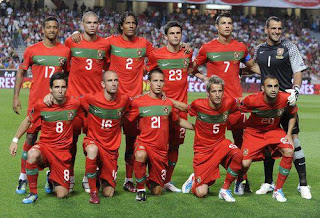 He is Portugal at Euro 2012 Squad