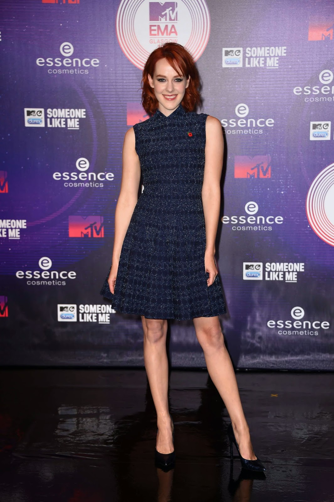 Jena Malone at MTV EMA's 2014 in Glasgow