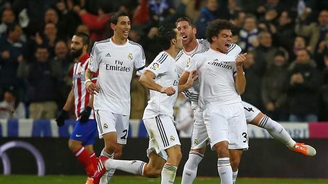 ريال مدريد يلقن اتلتيكو مدريد درسا قاسيا ويضع قدمه الاولى في النهائي