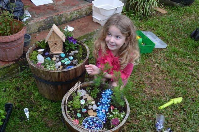 Food Family Fun Our Fairy Garden