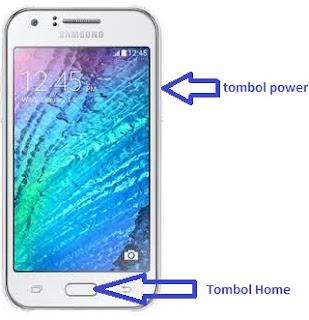 Cara Screenshot HP Samsung Galaxy J1, J2, J5 dan J7