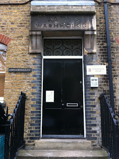 Entrance to old Baths and Wash House, Chancel Street, London SE1