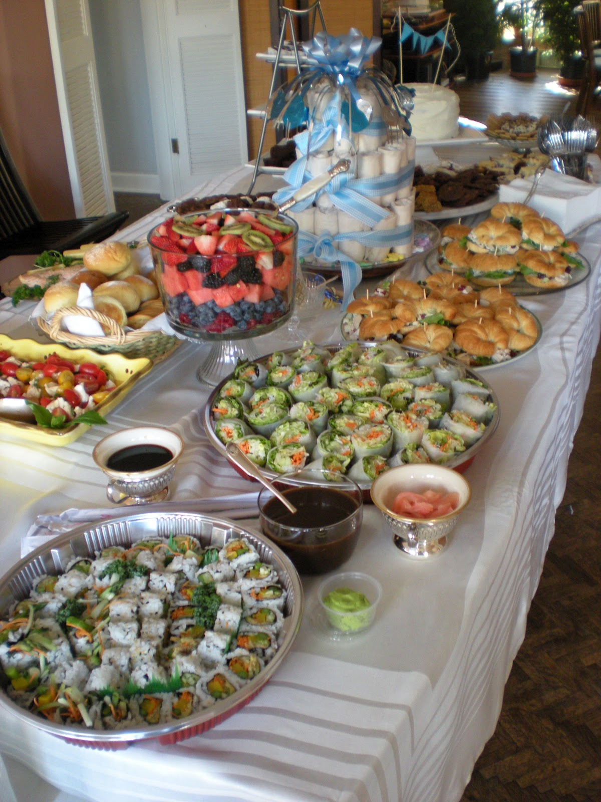 Baby Shower Drinks And Food ~ Baby shower food ideas to serve