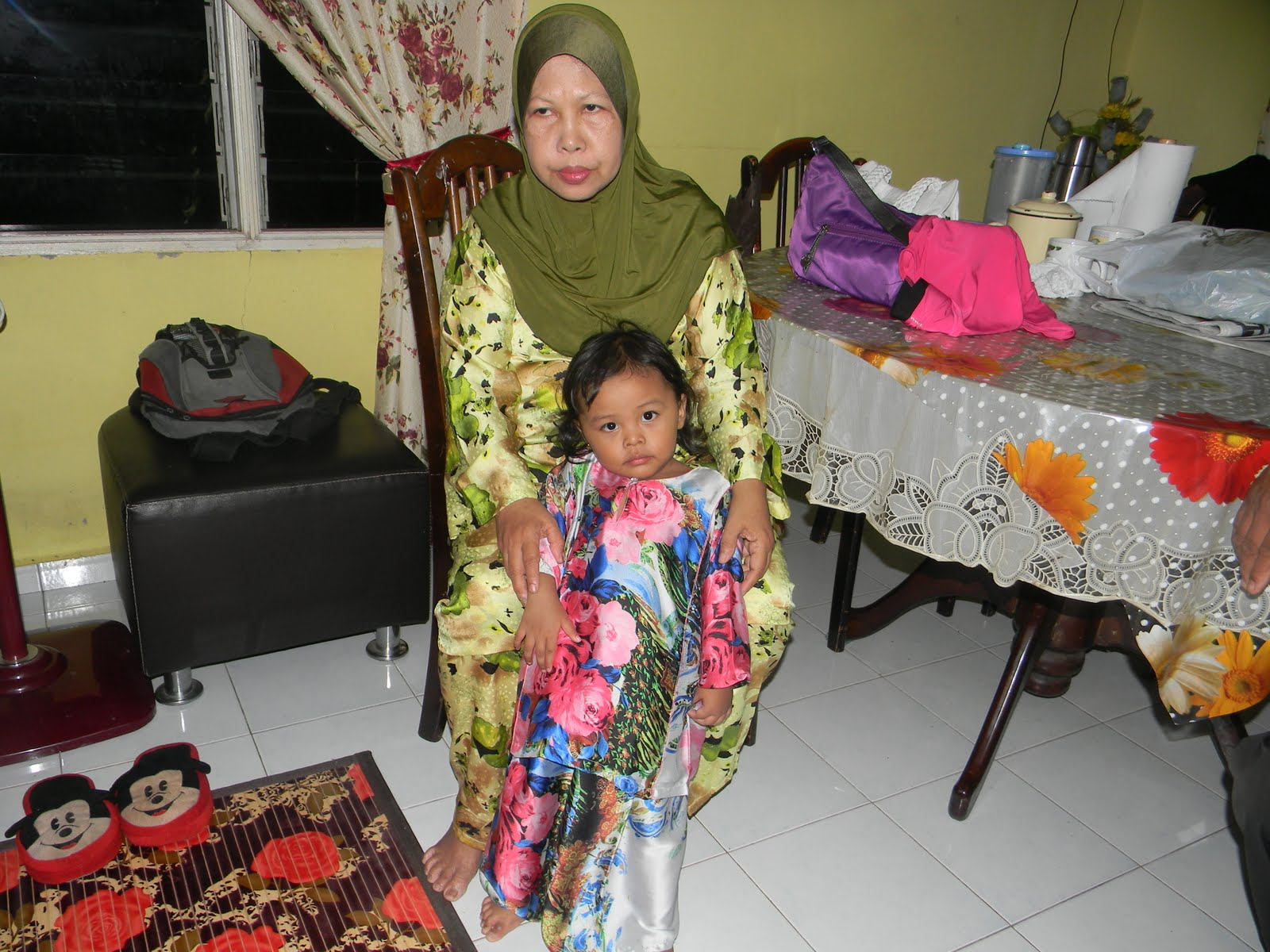 My mum n my little princess