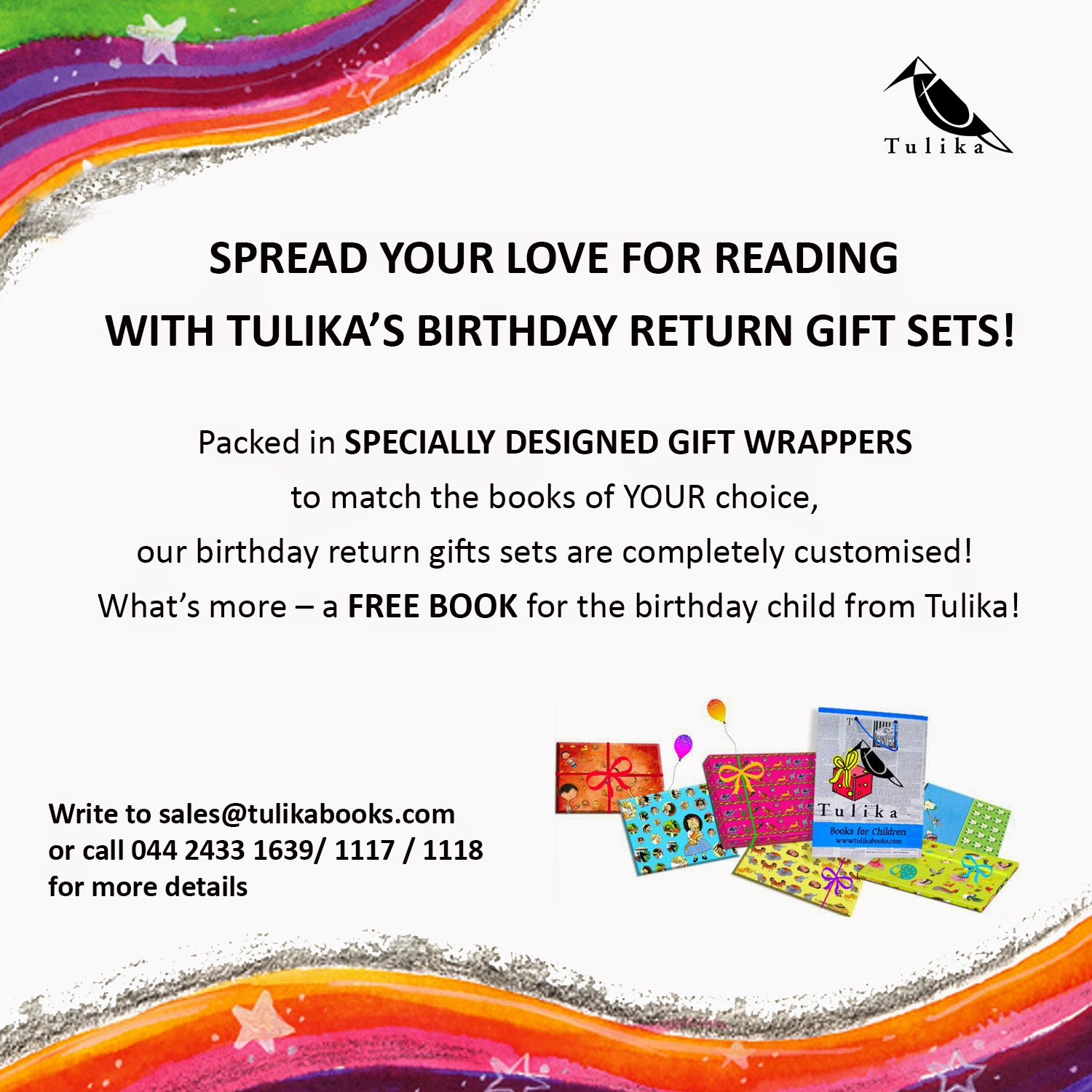 For More Details Visit Tulikabooks Birthday
