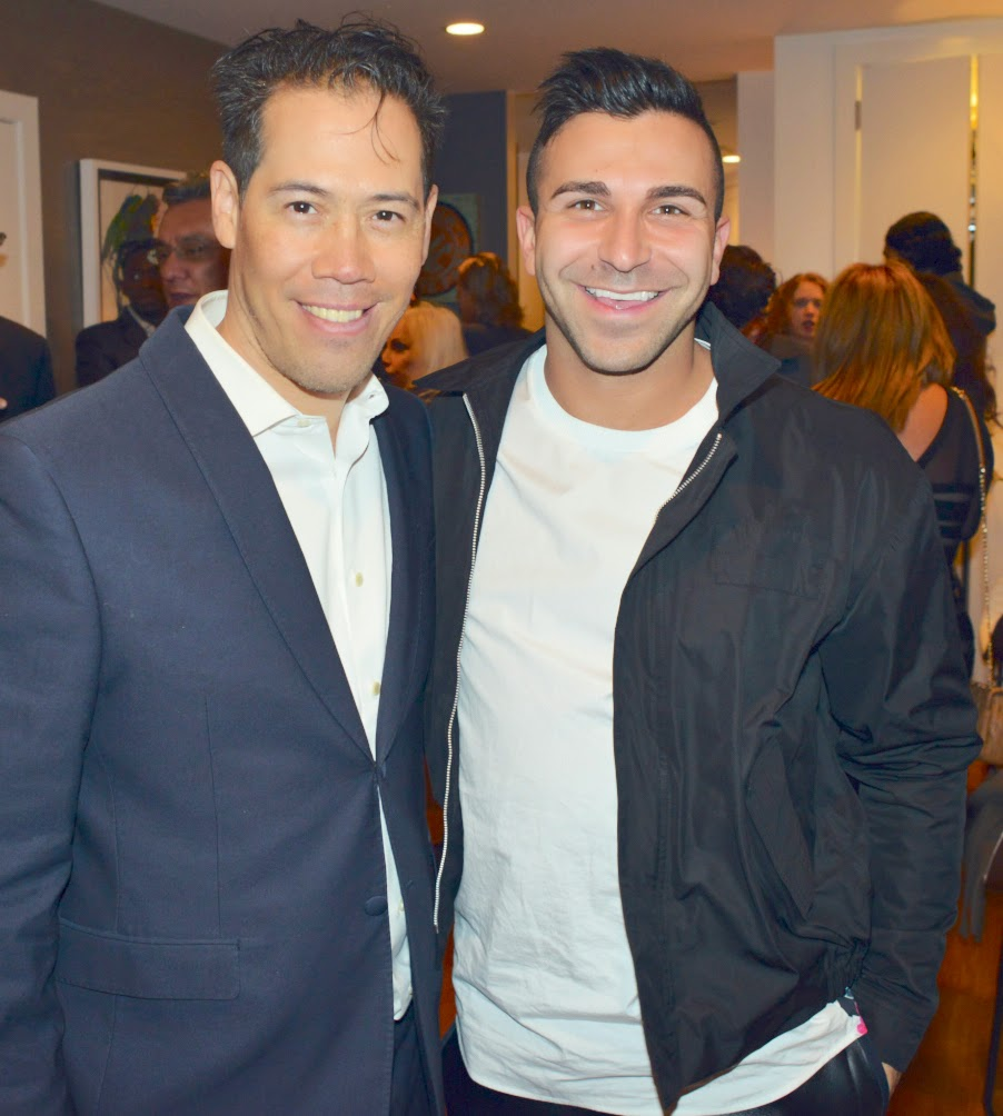 Inson Wood and Phillip Salem, owner of Owen New York fashion boutique, a preferred Vendor of Magnises members.