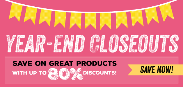 Year-End Blowout!