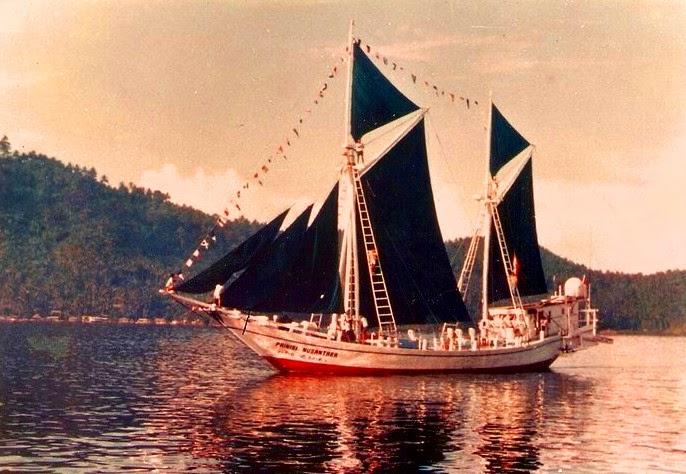 gambar kapal phinisi nusantara