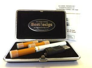 Smoking an E Cig