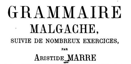 Lire la Grammaire Malgache avec exercices