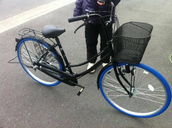 自転車の 自転車 カラータイヤ 700c : ブルー以外に、レッド、ピンク ...