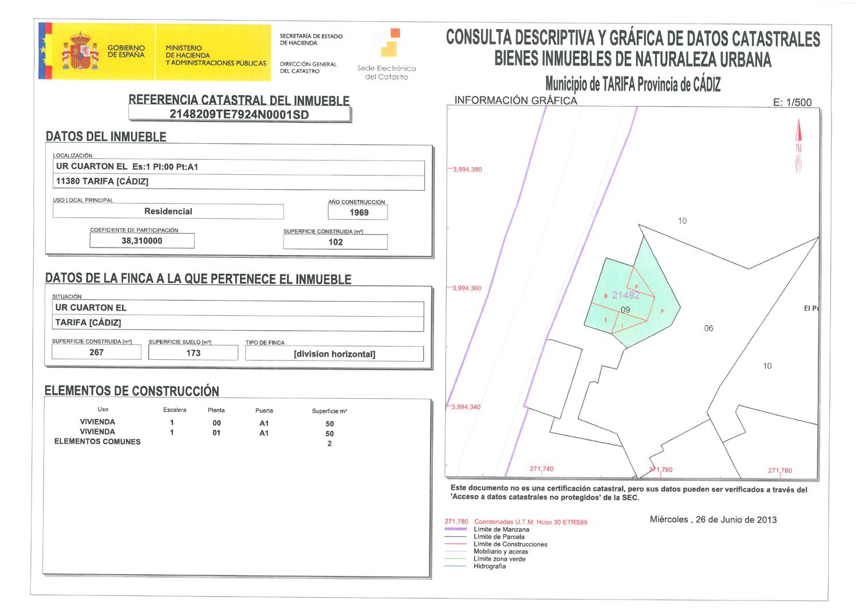 Asociaci n de vecinos cuart nparque pueblo el cuart n 32 for Como declarar una piscina en el catastro