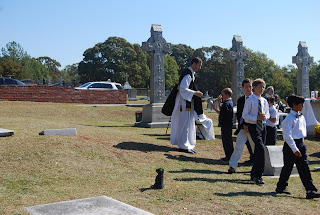 Montgomery Catholic Preparatory Students attend All Souls Day Mass 3