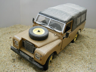 scale model Land Rover III 109 diecast