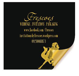 luxurious wedding card