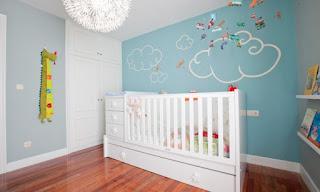 Decoración: aplicación de pintura para habitaciones infantiles
