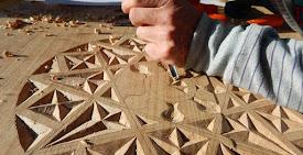 Talla para embellecer la madera