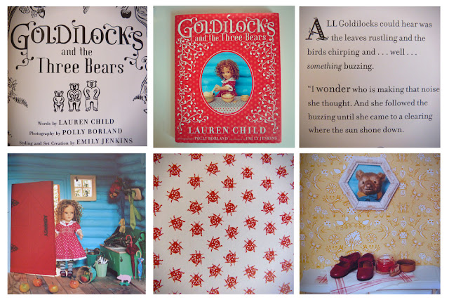 Lauren Child, Polly Borland, Emily Jenkins, ladybirds, three bears, Goldilocks