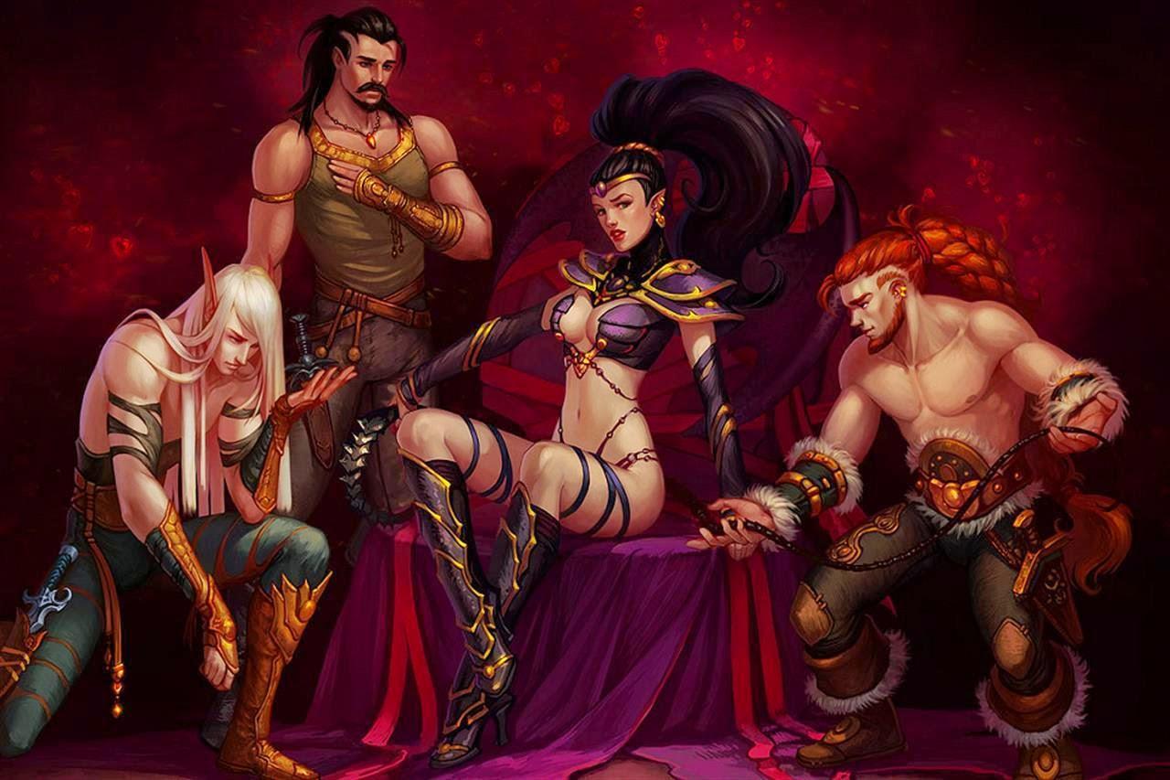 Orcs gay naked erotic image