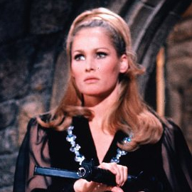Ursula Andress as Vespyr Lynd