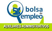 BOLSA EMPLEO MUNICIPAL DE AUXILIAR ADMINISTRATIVO
