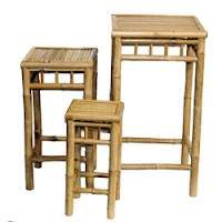 Bamboo End Tables