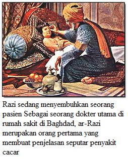 Ar Razi Ilmuwan Muslim Penemu Penyakit Cacar Tahun 865