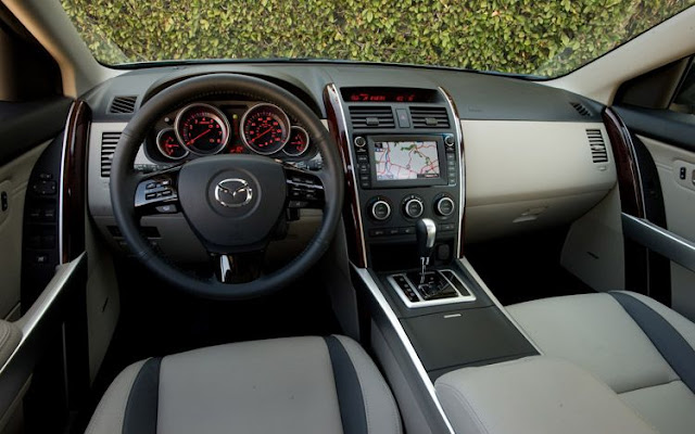 Interior shot of 2011 Mazda CX-9