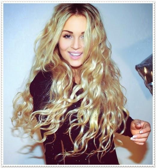 Frisur fur mittellange lockige haare