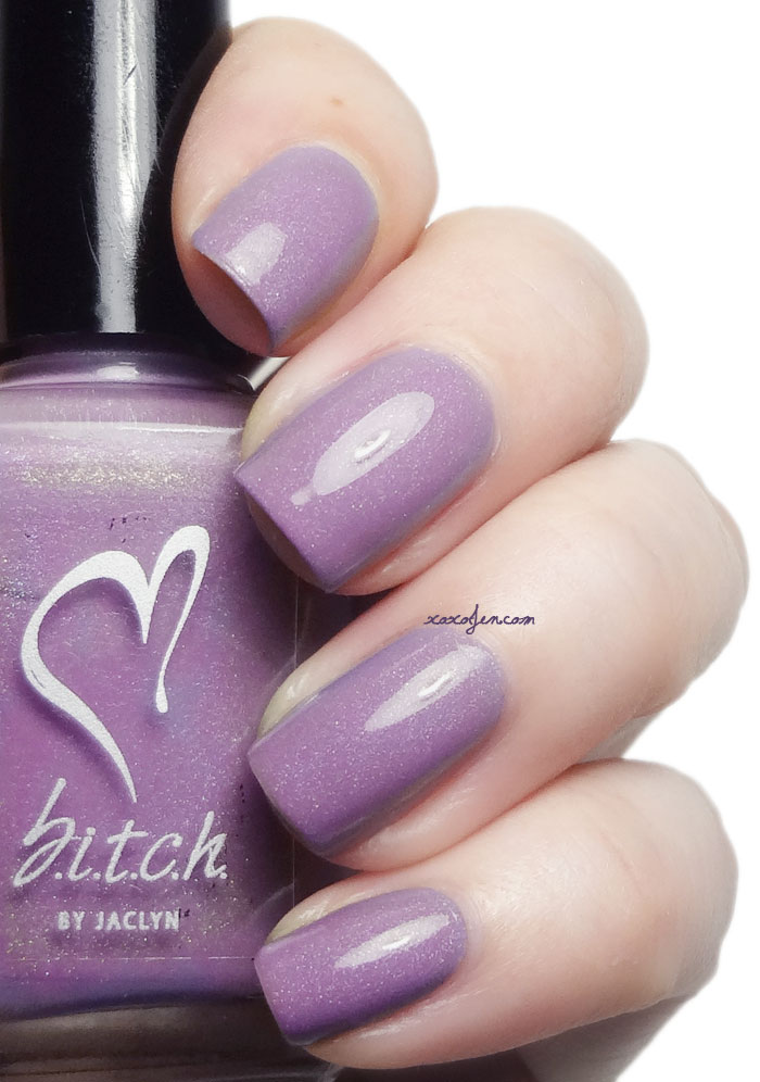 xoxoJen's swatch of B.i.t.c.h. Just Foolin' Around