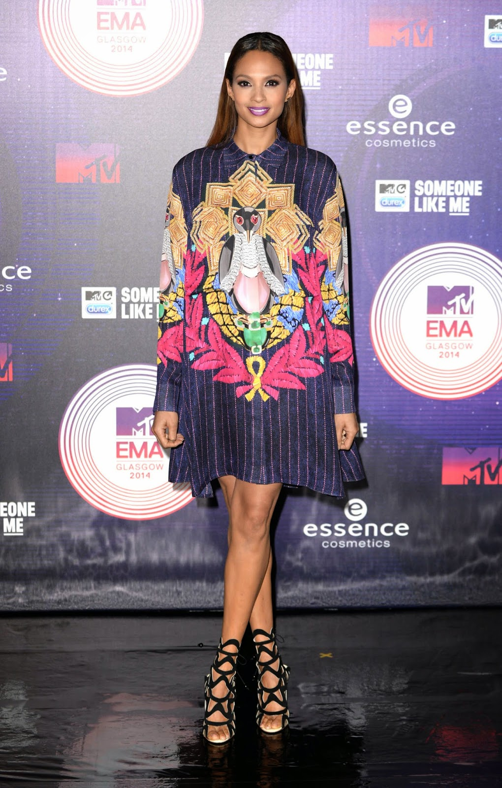 Alesha Dixon at MTV EMA's 2014 in Glasgow