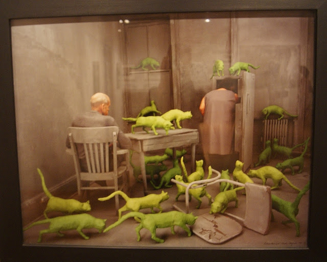from Camera Atomica Exhibit at Art Gallery of Ontario in Toronto, AGO, Nuclear, Weapons, Photography, Meltdown, Photos, Disaster, World War Two, Canada, The Purple Scarf, Culture, Art, Artmatters, Exhibition, radioactive cats, sandy skoglund