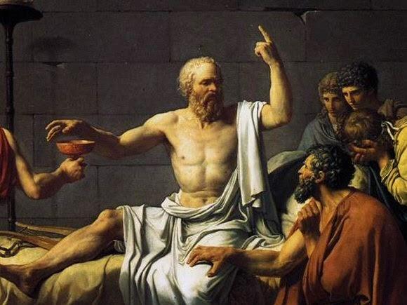 Trois vénérables penseurs Socrate