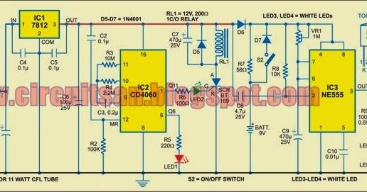 automatic bathroom light with back up lamp circuit diagram rh circuitsan youtube blogspot com Blue Line Light Switch Wiring Diagram Broan Bathroom Fan Wiring Diagram